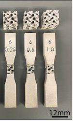 Additiv gefertigte Proben aus Ti-6Al-4V zur Beurteilung des Ermüdungsverhaltens spezieller Strukturen für Implantate