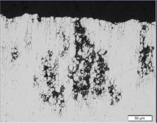 Bauteilversagen durch Rissbildung in Folge interkristalliner Korrosion
