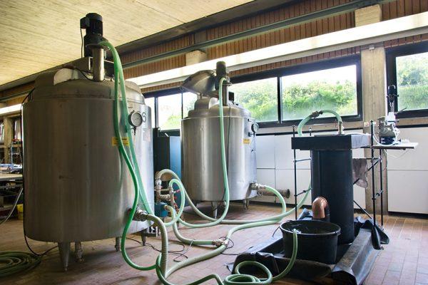 Prüfstand für dezentrale Regenwasserbehandlungsanlagen