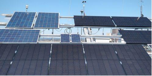 Teststand für Photovoltaik